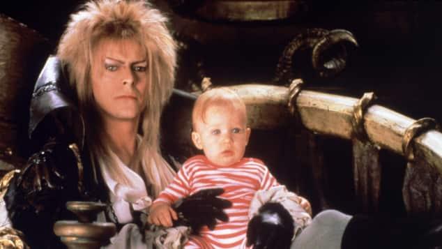David Bowie und Toby Froud
