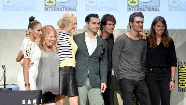 "Der ""The Vampire Diaries""-Cast"