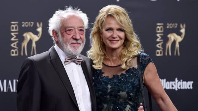 Didi Hallervorden und Christiane Zander