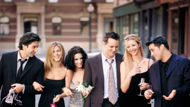 """Die """"Friends""""-Darsteller"""