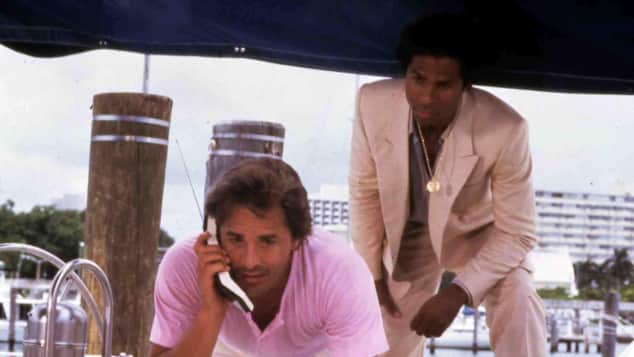 Don Johnson und Philip Michael Thomas