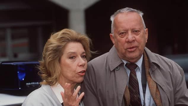 Evelyn Hamann und Heinz Baumann