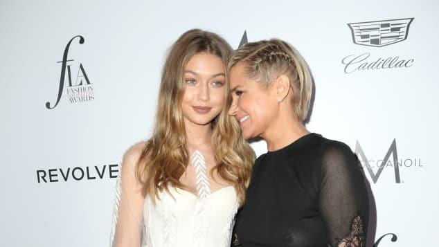 Gigi und Yolanda Hadid