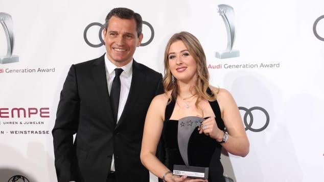 Michael Mronz und Gina-Maria Schumacher
