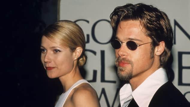 Gwyneth Paltrow und Brad Pitt