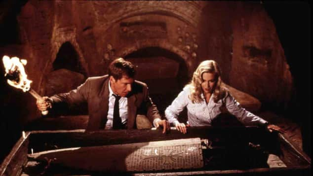 Harrison Ford und Alison Doody
