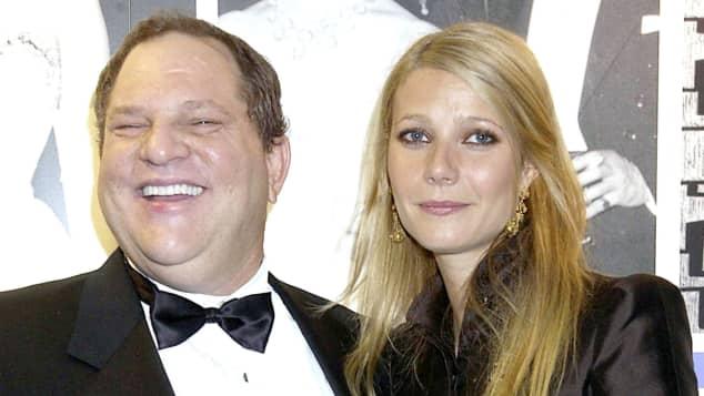 Harvey Weinstein und Gwyneth Paltrow