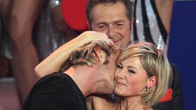 Helene Fischer und Florian Silbereisen 2009 Kuss