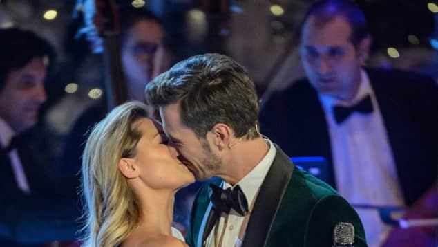 Helene Fischer und Florian Silbereisen Kuss