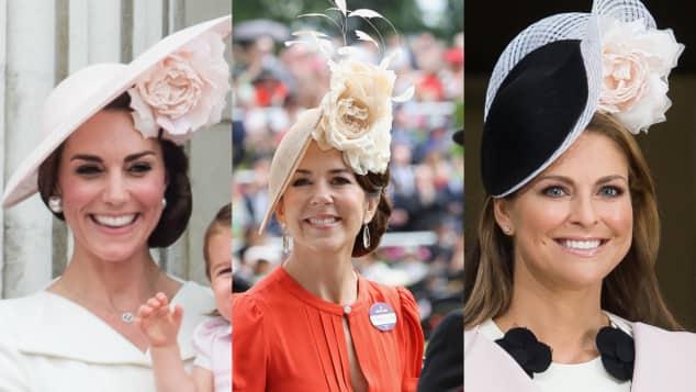 Herzogin Catherine, Prinzessin Mary und Prinzessin Madeleine