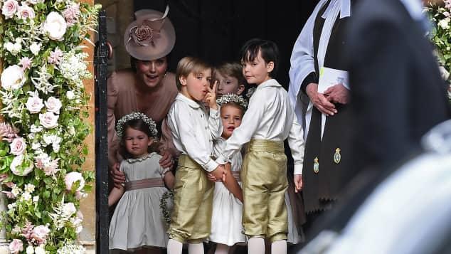 Herzogin Kate und Prinzessin Charlotte