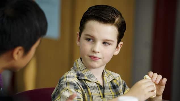 Young Sheldon Iain Armitage