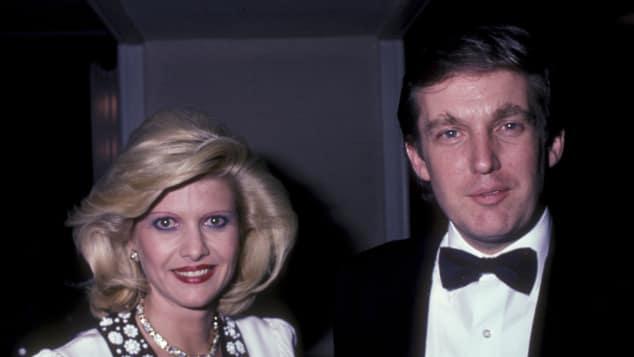 Ivana Trump und Donald Trump