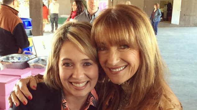 Jane Seymour und Erika Flores