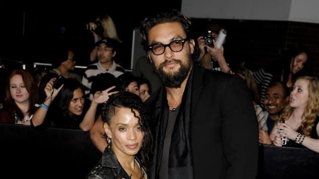Jason Momoa und Lisa Bonet