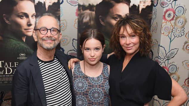 Joel Grey, Stella Gregg und Jennifer Grey