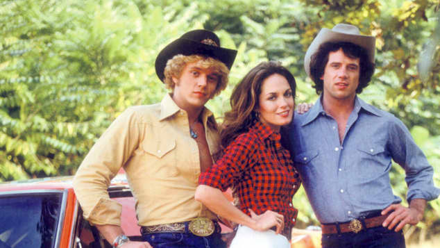 John Schneider, Catherine Bach and Tom Wopat