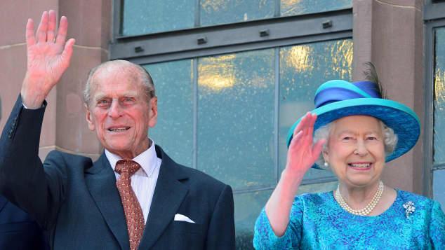 Königin Elisabeth II und Prinz Philip