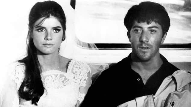 Katharine Ross und Dustin Hoffman