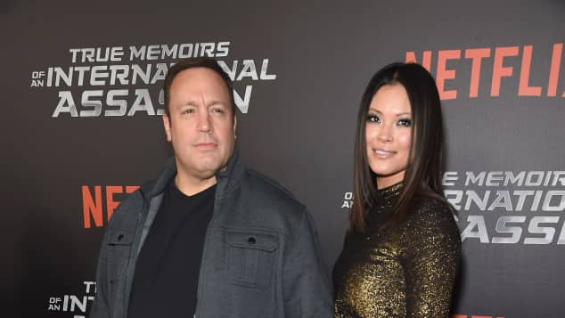 Kevin James und Steffania De La Cruz