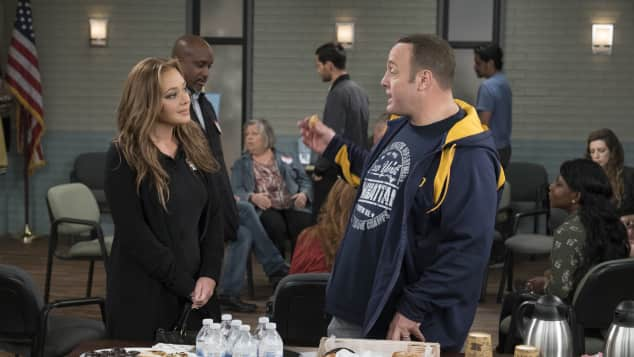 Kevin can wait Leah Remini und Kevin James