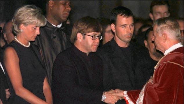 Lady Di und Sir Elton John