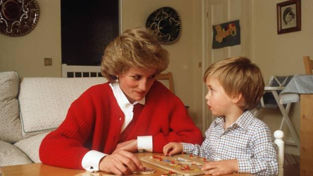Lady Diana und Prinz William