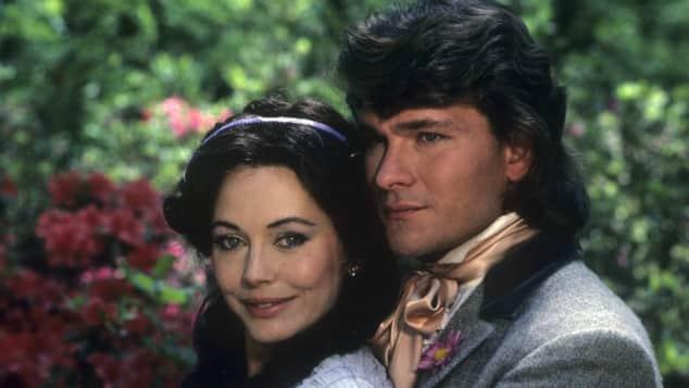Leslie-Anne Down und Patrick Swayze