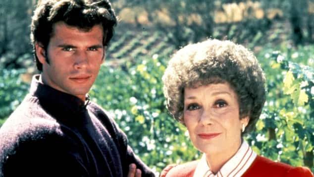 Lorenzo Lamas und Jane Wyman