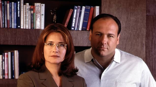 Lorraine Bracco und James Gandolfini