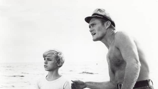 Luke Halpin und Chuck Connors