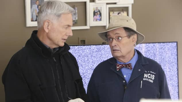 Mark Harmon und Donald McCallum