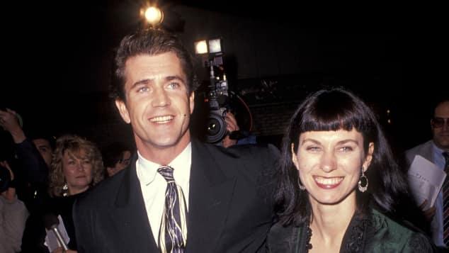 Mel Gibson und Robyn Moore