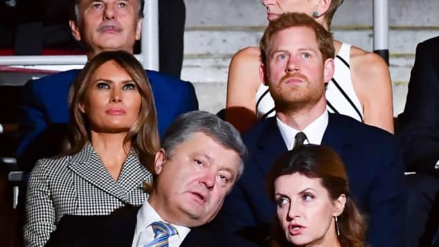 Melania Trump und Prinz Harry