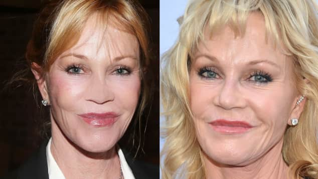 Melanie Griffith September vs. Mai 2015