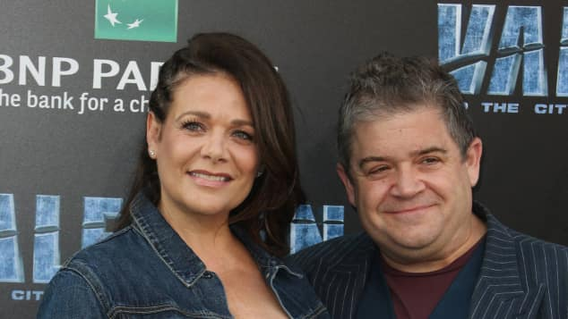 Meredith Salenger und Patton Oswalt