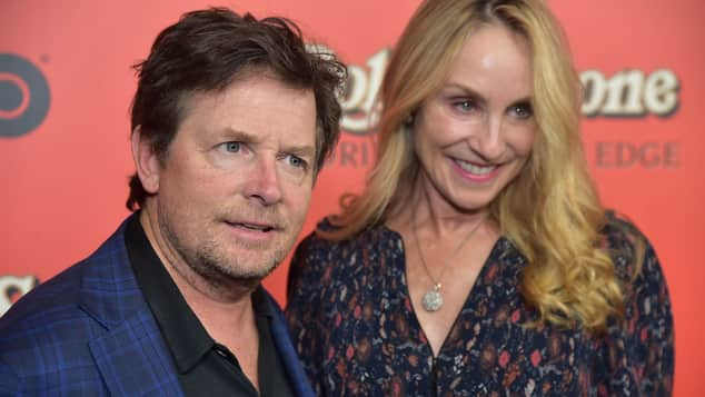 Michael J. Fox und Tracy Pollan