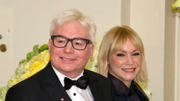 Mike Myers und Kelly Tisdale