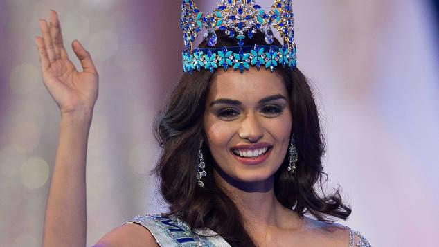 Miss World Manushi Chhilar