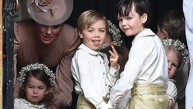 Page Boy Pippas Hochzeit
