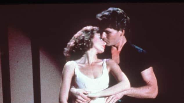 Patrick Swayze und Jennifer Grey