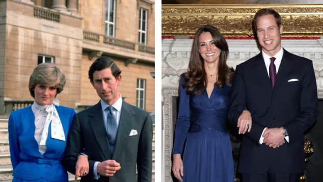 Prinz Charles Lady Diana Prinz William Kate