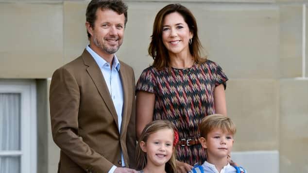 Prinz Frederik, Prinzessin Mary, Prinzessin Josephine und Prinz Vincent