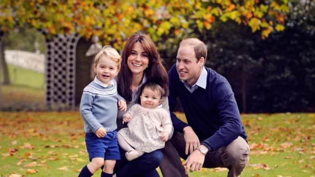 Prinz George, Prinzessin Charlotte, Herzogin Kate, Prinz William