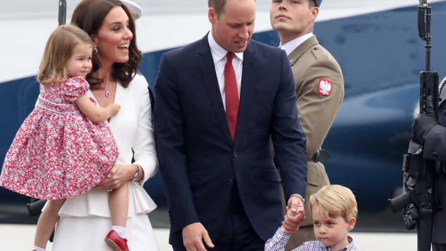 Prinz William Kate Prinz George Prinzessin Charlotte