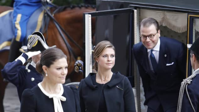 Prinzessin Madeleine und Prinzessin Victoria