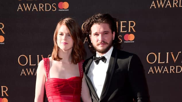 Rose Leslie und Kit Harington