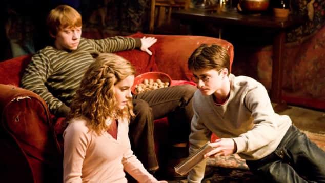 Rupert Grint, Emma Watson und Daniel Radcliffe