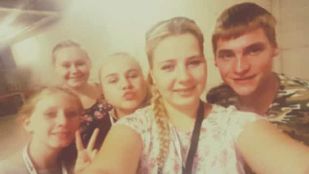 Sarafina Wollny und ihre Geschwister