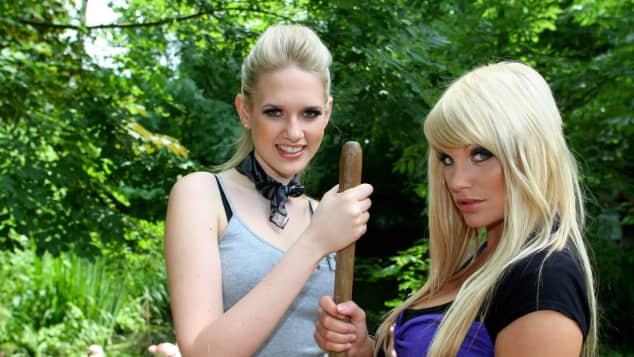 Sarah Knappik und Gina-Lisa Lohfink